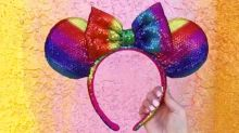 Rainbow Sequin Minnie Ears Are Coming!