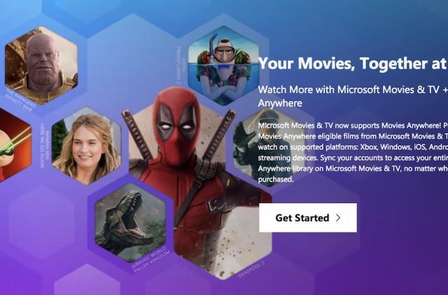 Microsoft rejoins Disney's Movies Anywhere