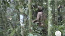Newly released video shows man believed to be last of tribe