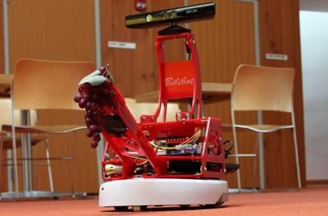 BiliBot combines Kinect, iRobot Create and gripper arm for affordable ROS fun (video)