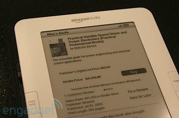 Amazon to charge per megabyte to send personal documents OTA to your Kindle