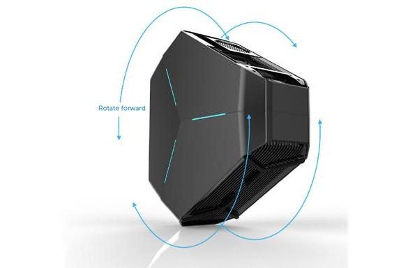 The Alienware Area-51 gaming rig just got one hell of a redesign