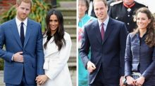 Why Prince Harry And Meghan Hold Hands But Prince William And Kate Rarely Do