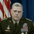 Chairman of the Joint Chiefs confident coronavirus vaccine will be available in the fall