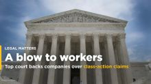 Companies win big at U.S. top court on worker class-action curbs