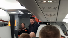 Unruly passenger snaps iPhone in half after his behavior forces plane to make emergency landing