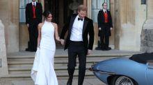 Meghan Markle's Second Wedding Dress Is Beautiful
