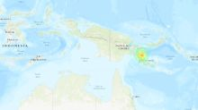 Tsunami warning after massive earthquake strikes off PNG coast