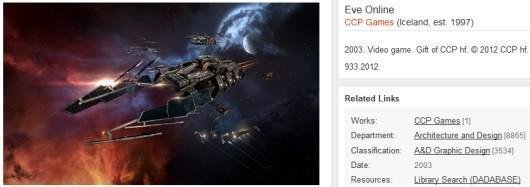 EVE Online coming to NYC's Museum of Modern Art