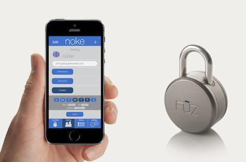 Noke Bluetooth app-enabled padlock launches on Kickstarter