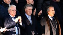 Ancelotti and Arteta watch scrappy goalless draw from the stands