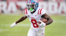 NFL.com mock draft has the Texans going offense with first 3 picks