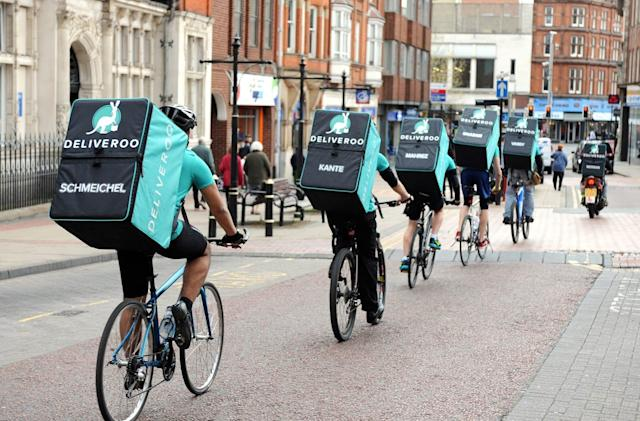 Deliveroo now offers booze-only drop-offs
