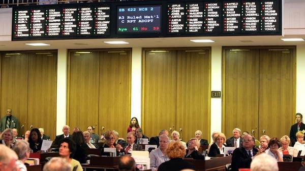NC House passes abortion education bill 68-42
