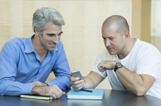 Jony Ive, Craig Federighi chat with USA Today