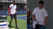 'Wait, what?': Nick Kyrgios's hilarious shoe debacle