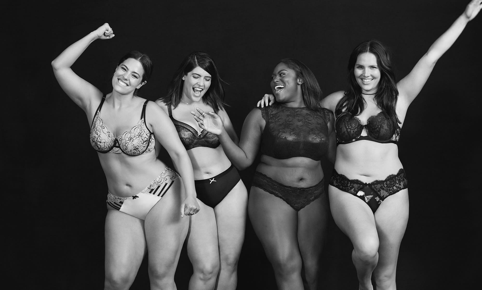 Lane Bryant body positive ad