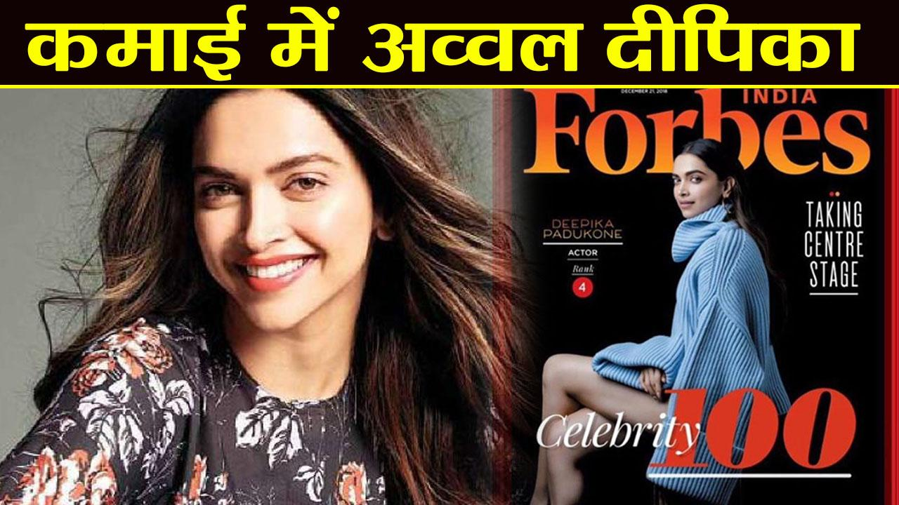 Deepika Padukone becomes First woman to Reach Top 5 ...