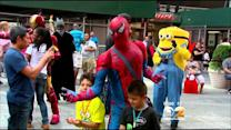 Calls For 'Rigorous Licensing' Of Costumed Characters In Times Square