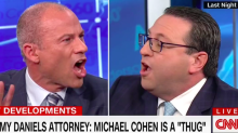 Stormy Daniels, Michael Cohen lawyers go sideways on CNN: 'Thug Thug Thug Thug' (Video)