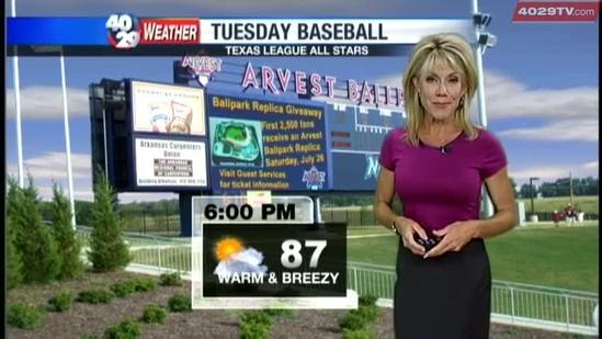 Laura's Weather Webcast June 25th