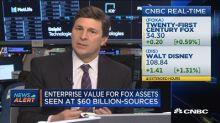 Disney deal seen valuing Fox assets at $60 billion: Sourc...