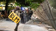 Portland police detain two suspects after reported shooting near federal courthouse protest site