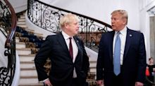 Donald Trump says Boris Johnson 'the right man' to lead UK after it loses EU 'anchor around ankle'