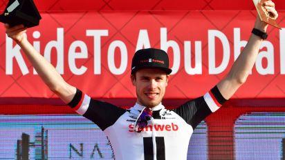 Abu Dhabi Tour 2018 – stage three results and standings as Phil Bauhaus wins and EliaViviani retains lead