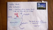 Tourist draws map on letter instead of address, Iceland delivers