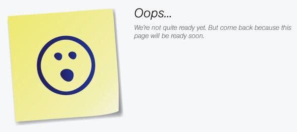 Sprint's Nexus website is 'coming soon'