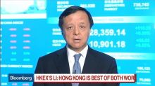 HKEX CEO Li Sees 'Very Strong' IPO Pipeline