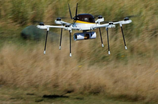 UPS testing drones to deliver emergency medical supplies