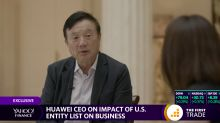 'That will leave the U.S. behind': Huawei CEO Ren Zhengfei speaks with Yahoo Finance