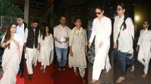 Aamir, Ranveer, Kapoors and Bachchans at Ram Mukherjee's prayer meet