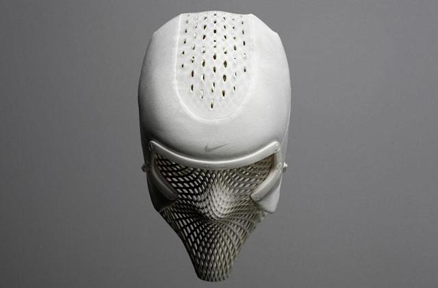 You can't help but feel cool in Nike's new face mask