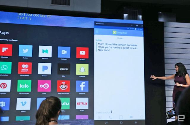 Microsoft's phone-screen mirroring beta hits Windows 10 this week