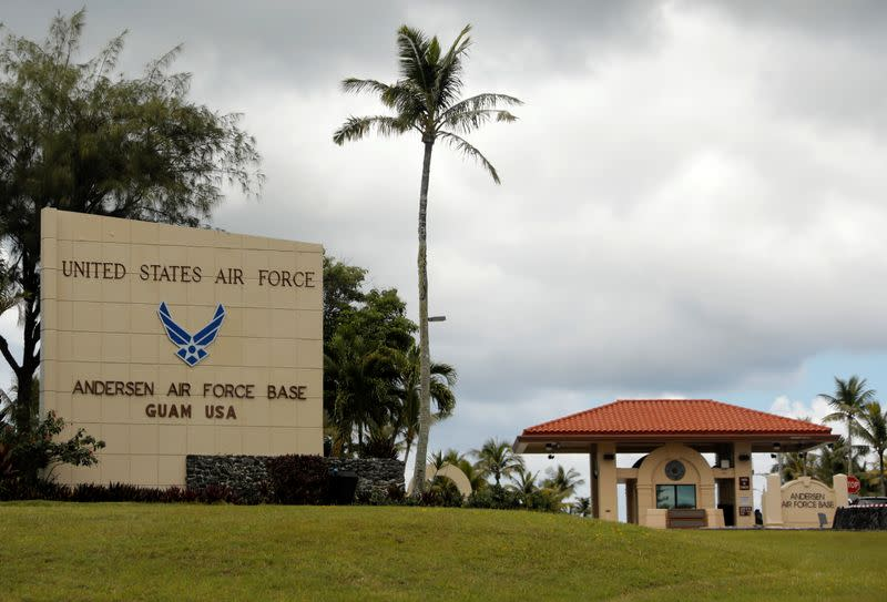 China air force video appears to show simulated attack on United States  air base on Guam