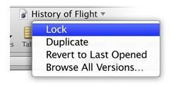 OS X Lion: Auto Save and Versions to the rescue