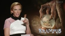 Adam Scott and Toni Collette Explain What in the World Krampus Is