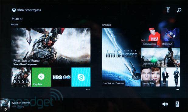 Xbox One SmartGlass hands-on (video)