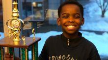 Homeless 8-year-old refugee wins New York State chess championship, inspiring viral fundraiser