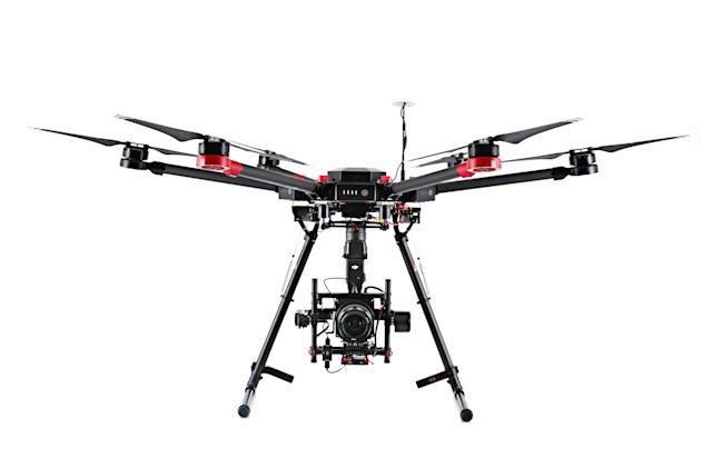 DJI and Hasselblad team up for a souped up photography drone