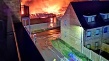 Kent residents told to keep their windows closed after blaze at Dartford coffee roastery