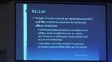 Seminar for teachers sparks backlash for including slides on 'white privilege' and 'racism'