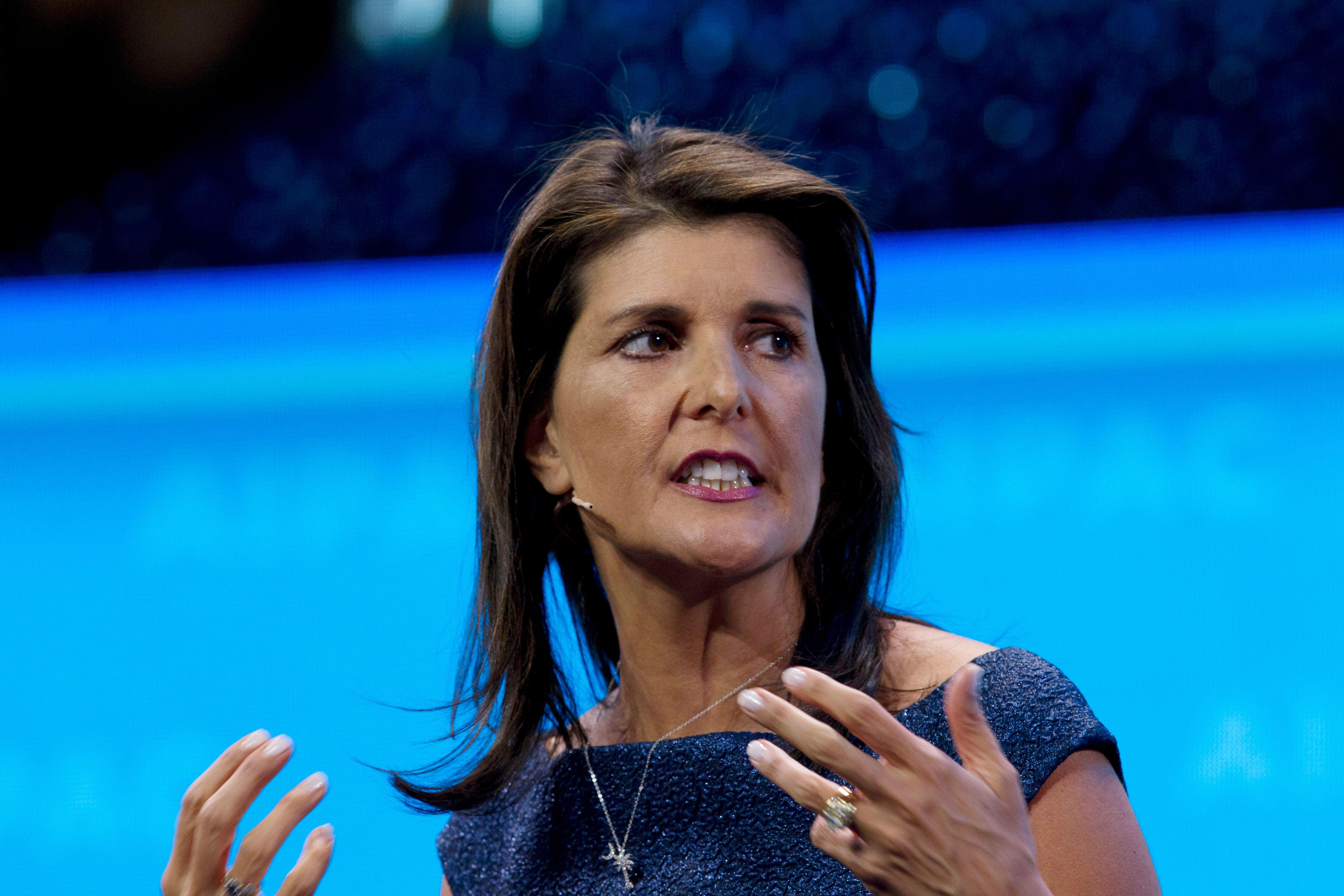 Nikki Haley: Backers Of Abortion Rights Are Forcing Their Values On America