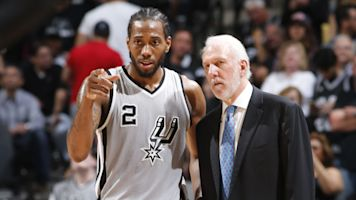 Popovich meets with disgruntled Leonard