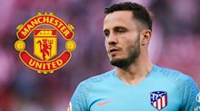 Atletico star Saul Niguez admits to being 'very flattered' by Man Utd transfer links