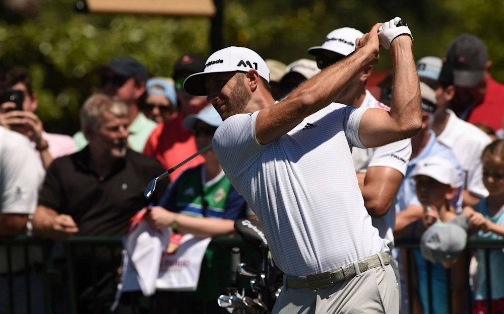 Dustin Johnson was getting back into the swing of things at Eagle Point Golf Course on Wednesday - The Star-News