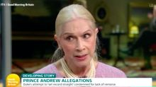 Lady Colin Campbell defends Prince Andrew and claims 'soliciting sex from minors is not paedophilia'